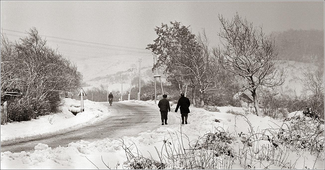 01. 1966. Дорога в окрестностях Ужгорода. 28 декабря