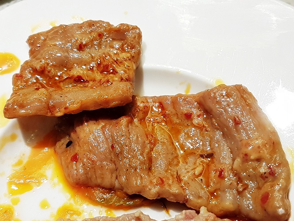 House Special Marinade Beef Slices Cooked Spicy