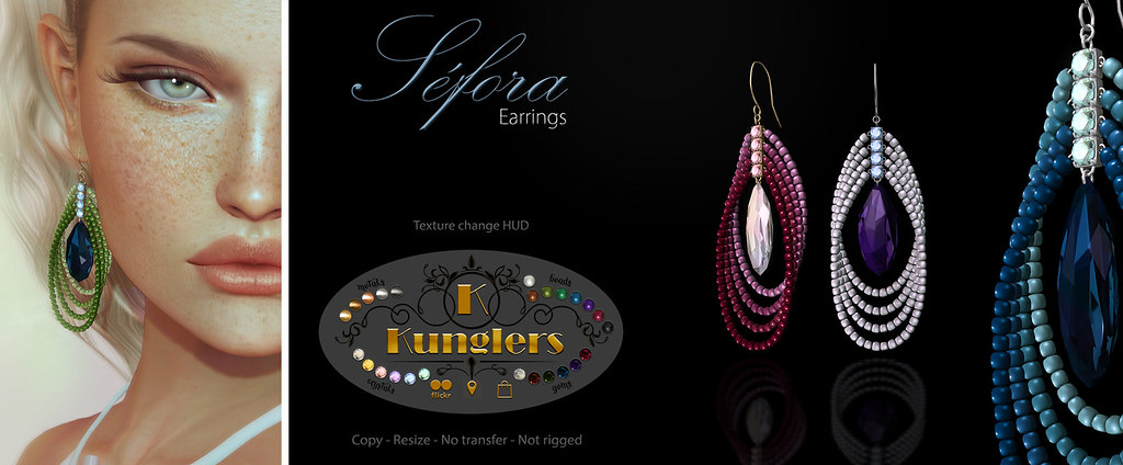 KUNGLERS - Sefora earrings