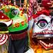 Paper parade floats: Tai Kok Tsui Festival