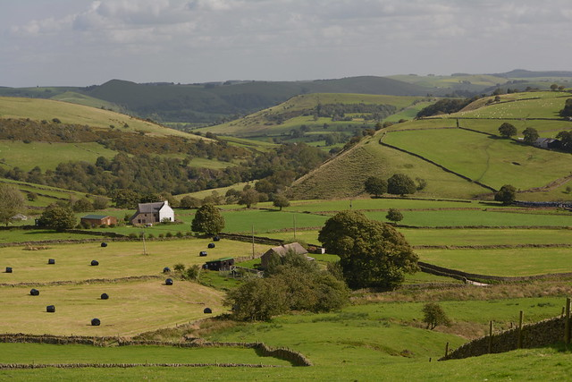 Rural Bliss, Peak District National Park, Staffordshire, England.