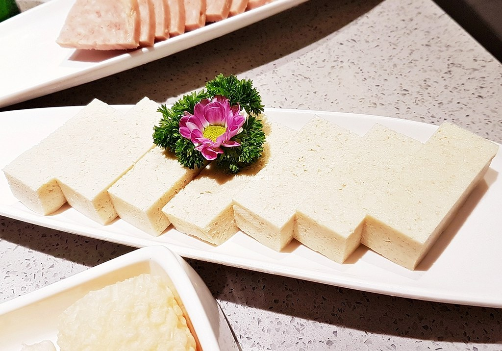 Frozen Tofu Beancurd Raw