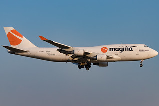 Magma Aviation - Boeing 747-481BCF - MSN 24801 - TF-AMP