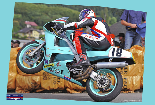 Christian Zwedorn 1990 Honda RC30 Schwanenstadt GP (c) Bernard Egger :: rumoto images 2710 cc