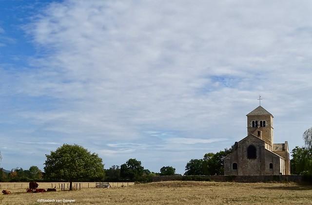 Litle romanesque church