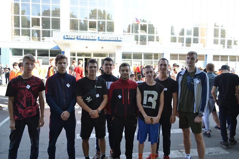 Студенты АФГТ поддержали акцию «Беги за мной»