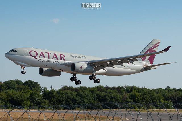 Qatar Airways Cargo - Airbus A330-243F [A7-AFG] Luxembourg Airport - 07/08/20