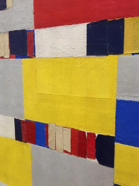 Mondriaan: Victory Boogie-Woogie (detail), Gemeentemuseum Den Haag