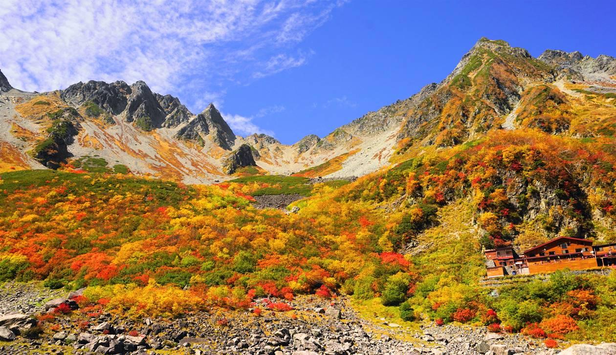 【北アルプス】秋の涸沢 奥穂高岳登山