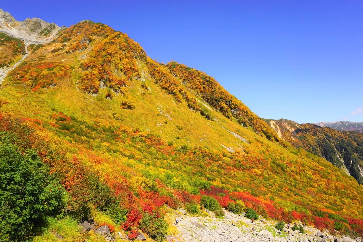 【北アルプス】涸沢の紅葉登山