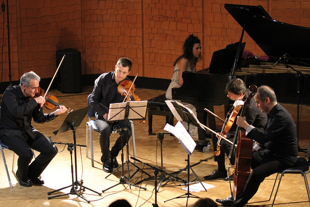 """CUARTETO GRANADOS & PATRICIA ARAUZO, PIANO - 33 FESTIVAL DE MÚSICA ESPAÑOLA DE LEÓN - AUDITORIO """"ÁNGEL BARJA"""" 18.09.20"""
