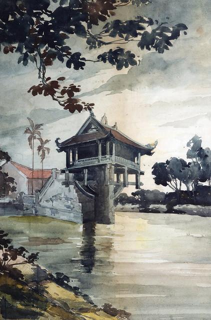 Le pagode du pilier unique à Hanoï (Môt Côt)