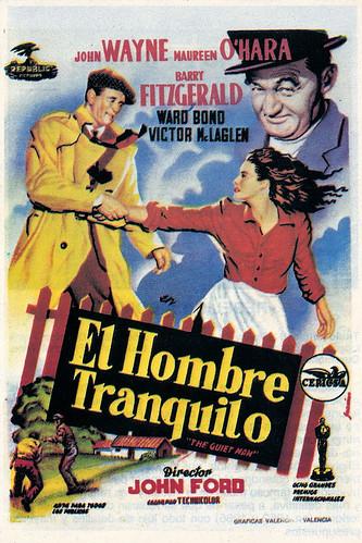 Cartel de la película: El Hombre Tranquilo