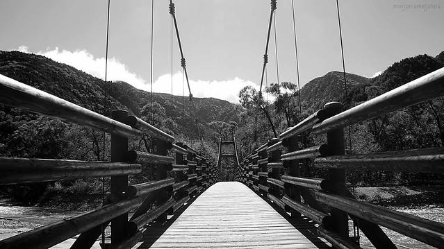 Myojin Bridge, Kamikochi, Nagano, Japan