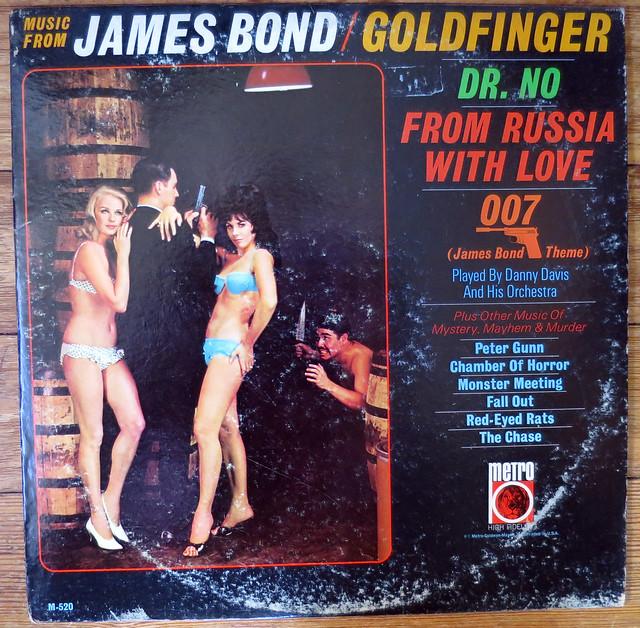 MUSIC-JAMES-BOND-GOLDFINGER-1960s