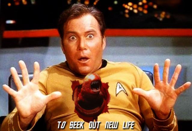 To Seek Out New Life: Star Trek/Alien Mashup