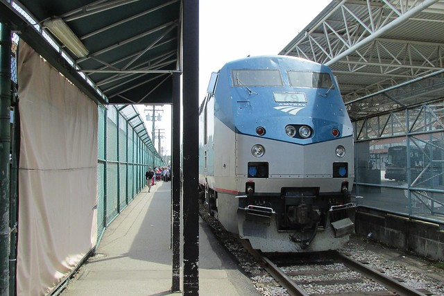Amtrak Cascades in Vancouver, BC