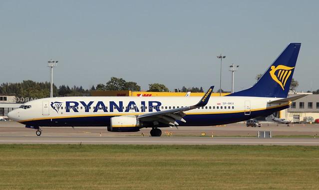 Ryanair Sun , SP-RKV, MSN 44810, Boeing 737-8AS, 14.09.2020, GDN-EPGD, Gdańsk