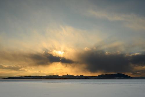 tokoro hokkaidō japan hokkaido visitjapan roamtheplanet winter snow снег япония sunset зима 冬 雪 北海道 日本