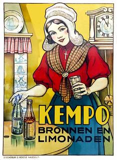 HASSELT, E.R.  Kempo Bronnen en Limonaden, c. 1920.