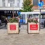 Covid signs in Preston