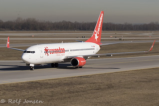 TC-TJI Boeing 737-800 Corendon Airlines Munich Airport EDDM 18.02-19