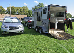 DSC_0018 Subaru and Trailer
