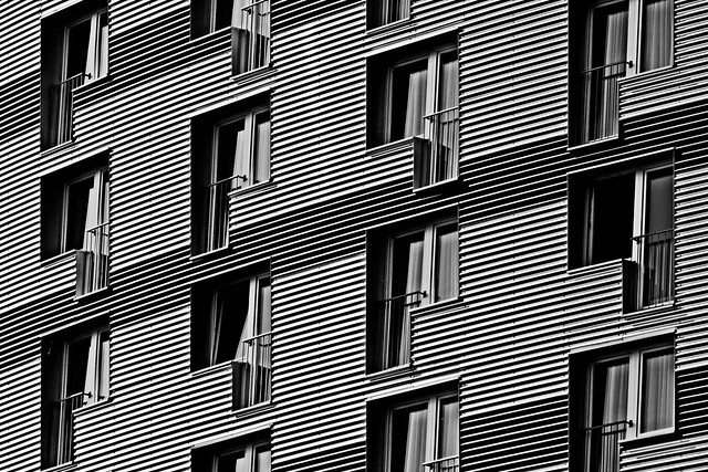 stripes & perspective & new hotel