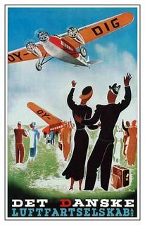 Det Danske Luftfartselskap, c. 1920s.
