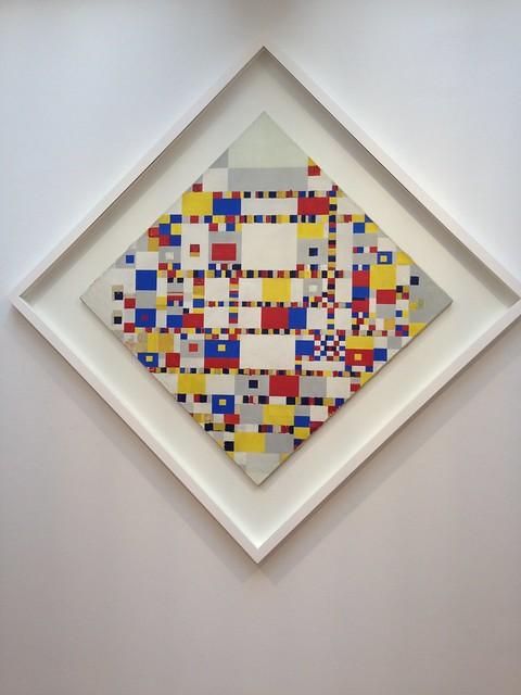 Mondriaan: Victory Boogie-Woogie, Gemeentemuseum Den Haag