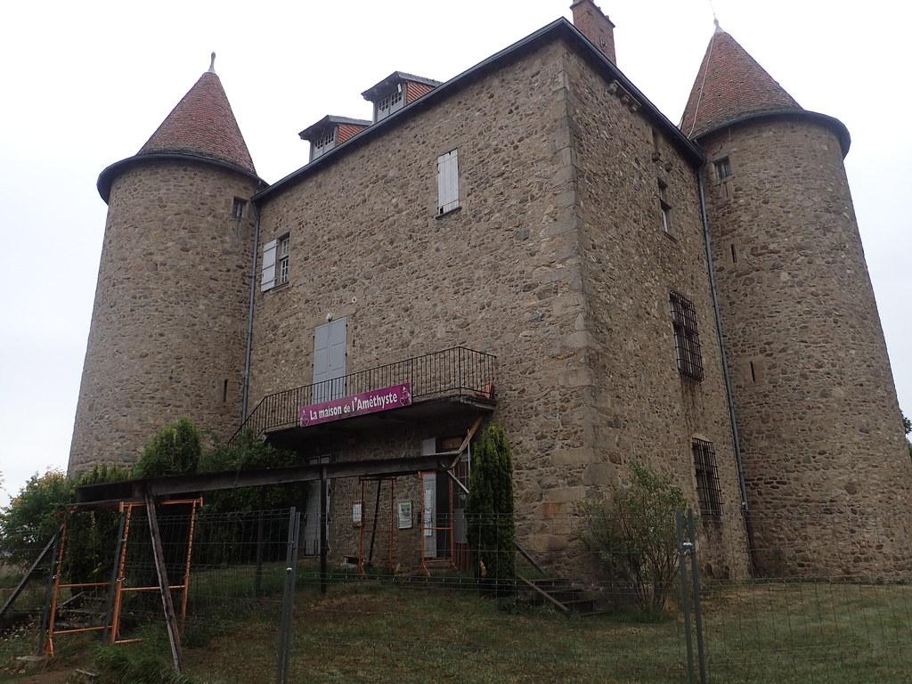 Le Vernet, maison de l'amethyste