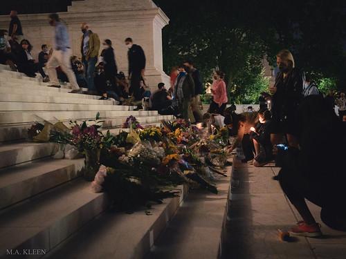 Ruth Bader Ginsburg Vigil in Washington, DC