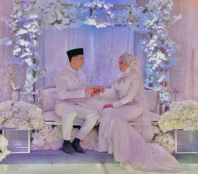 Dengan Sekali Lafaz, Raja Afiq Sah Bergelar Suami Soffwany Yusoff