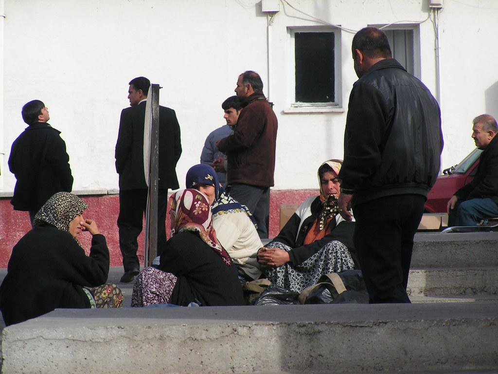 Bab Al-Hawa border, Syria, 2005