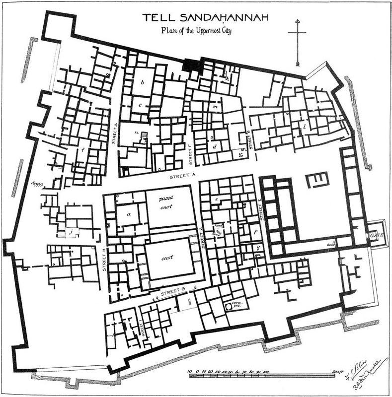 Maresha-hellenistic-plan-after-bliss-and-macalister-jm-1