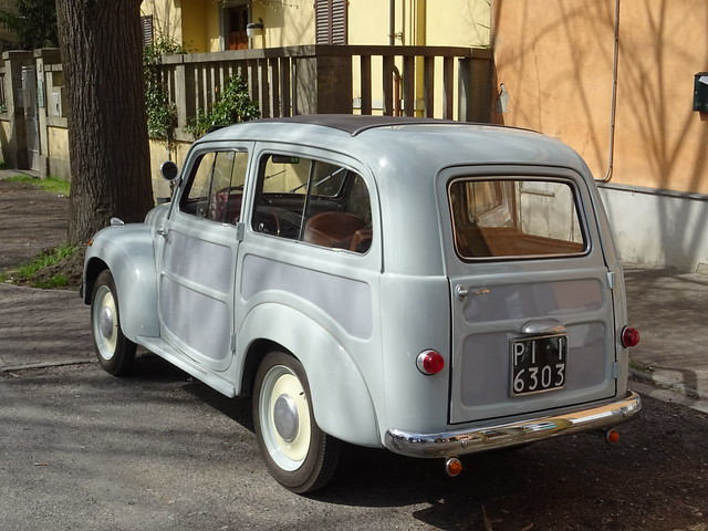 1953 Fiat 500 C Belvedere