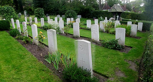 War Graves in Hawarden, North Wales