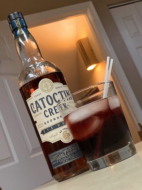 2020 261/366 9/17/2020 THURSDAY - Catoctin Creek Rye and Cherries