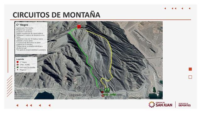 2020-09-19 DEPORTES: Se reinició la actividad de montañismo con un nuevo protocolo