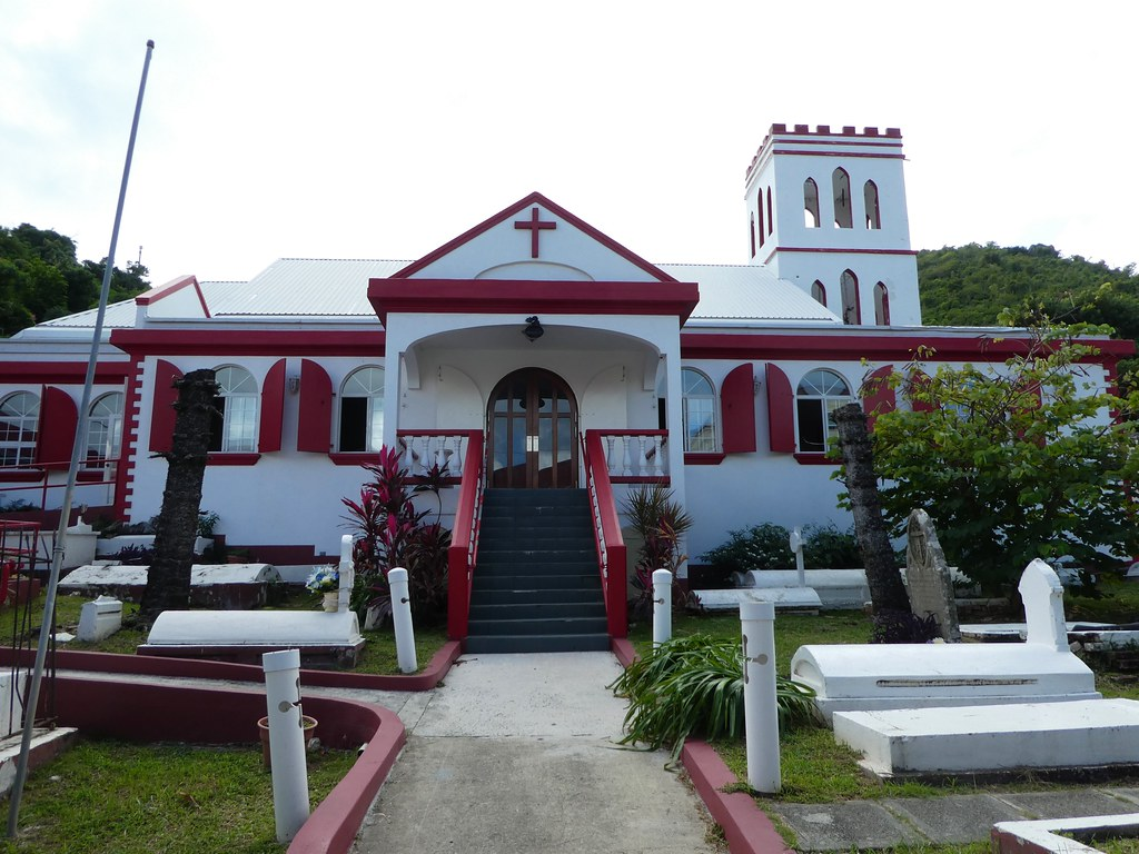 Road Town, Tortola - St. George's Episcopal Church