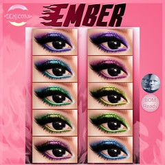 {Demicorn} Ember Glam Eyeshadows - Genus AD