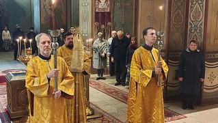 19.09.2020 | Всенощное бдение в Софийском соборе