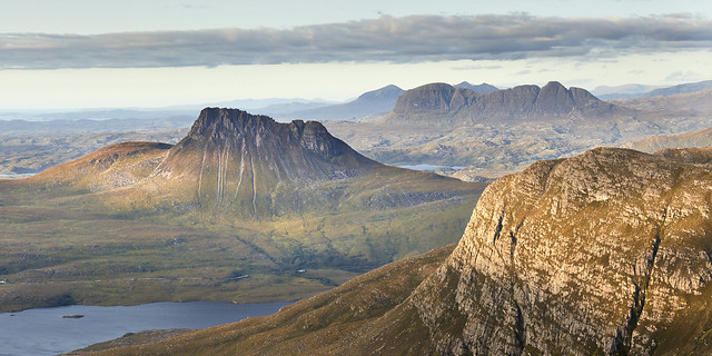 Stac Pollaidh and Suilven