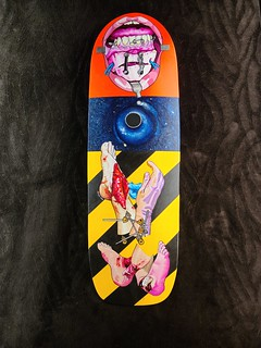 Skateboard Deck Commission a | by BLSart