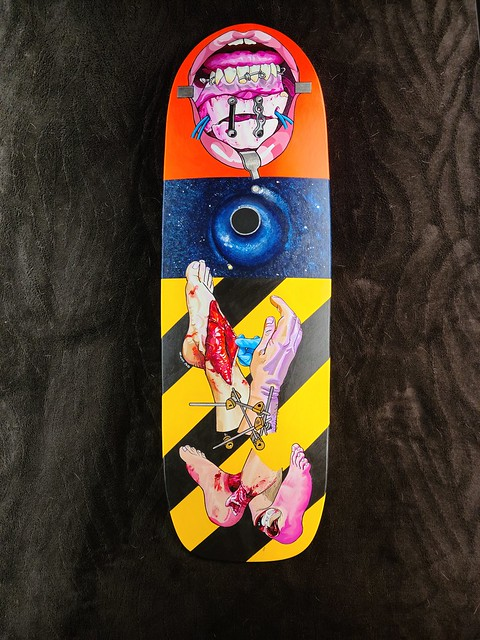 Skateboard Deck Commission a