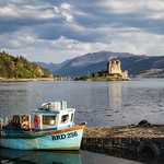 19. September 2020 - 21:41 - It was a beautiful day at Eilean Donan Castle.  Thank you for any visits, invites, faves and comments, they are greatly appreciated.