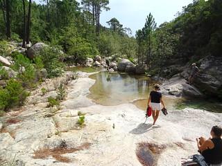 Spuntinu et baignade aux vasques de la confluence Peralzone