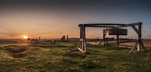 sunset sheldon derbyshire peakdistrict horsegin magpie lead mine