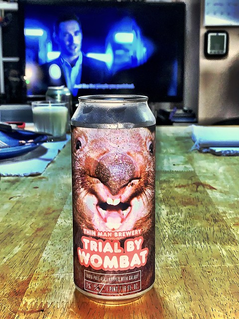 2020 261/366 9/17/2020 THURSDAY - Trial By Wombat India Pale Ale Hopped With Galaxy - Thin Man Brewery Buffalo New York