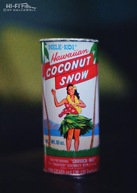 coconut snow